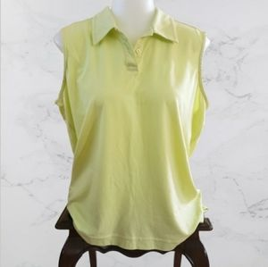 Tommy Bahama Tennis/Golf shirt sleeveless size 18